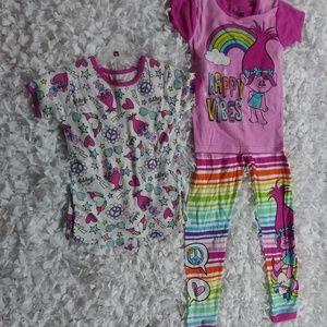 Other - 4 piece pajama trolls